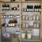 Produits de la Boutique Bio du Château Petit Roc